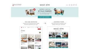 west elm style furniture. Simple Style West Elm Launches Pinterest Style Finder Intended Furniture L