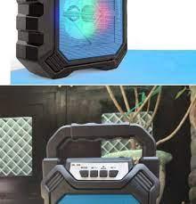 HCM]Loa Bluetooth Xách Tay JPJ-668 LED RGB Âm thanh 3D