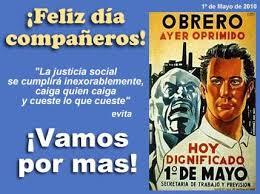 Resultado de imagen de DIA INTERNACIONAL DE LOS TRABAJADORES