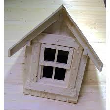 Ausstattungs Set Gaube Und Fenster Für Holz Gartenhaus