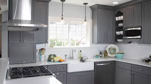 Grey Shaker Cabinets Thewoodloorsourcecom