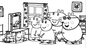 Small Picture Peppa Pig Teatro De Marionetas Dibujo Pginas Para Colorear YouTube