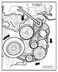 2006 volkswagen passat 3 6l serpentine belt diagrams a serpentine belt diagram for a 2006 volkswagen passat a 3 6l engine