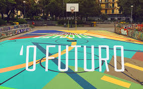 Truly Design Truly Design Creates An Anamorphic Basketball Court Feel