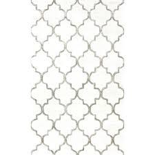 trellis area rug moroccan wool loop print base fancy navy canada