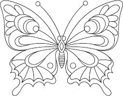 Pagine Da Colorare Con Disegni Di Farfalle Per Bambini 100 Immagini
