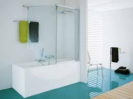 image of nice bathtub wall panels