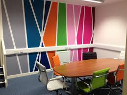 Meeting Room Wall Design Colourful Meeting Room Wall Graphics For Office Branding
