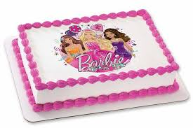Barbie Doll Cake Online Order Fresh Barbie Doll Birthday Cakes