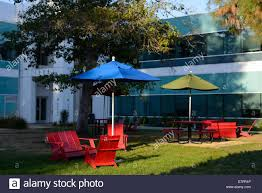 Landscape Design Mountain View Ca Google Campus At Their Hq Mountain View Ca Stock Photo
