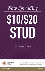 hollywood park casino promotions 10 20 stud