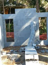 How to build a concrete house Slab Build Concrete Block Wall How To Reinforce Concrete Block Build Concrete Block Stucco Garden Wall Diy Build Concrete Build Concrete Block Wall Decorative Retaining Wall Blocks