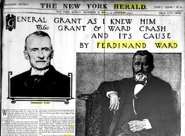 his life ulysses s grant information center csslibraryguides  ferdinand ward and general grant