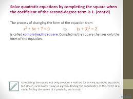 4 solve quadratic