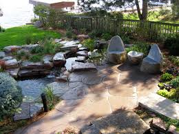 landscaping patio with pond - Google Search   Landscaping ideas ...