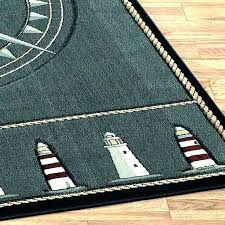 beach themed area rugs fish ocean nautical compass rug