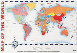 World Map Posters Map Of The World Poster