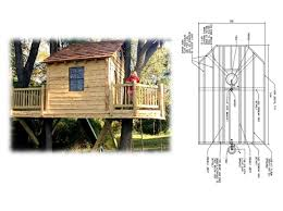 Contemporary Treehouse Plans S Intended Decor