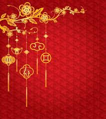 Hd wallpapers and background images. Chinese New Year Background With Golden Decoration Vector Art Illustration Chinese New Year Background Chinese New Year Pictures Chinese New Year Wallpaper