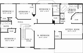 ... Latest 4 5 Bedroom Ranch House Plans Lovely Ranch Style House Plans  Plan 5 Bedroom ...