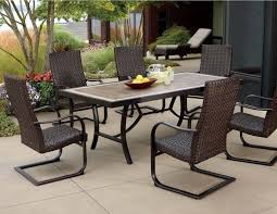 patio dining chair modern outdoor dining chairs ergonomic dining chairs with black wicker cushion