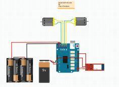 circuit schematic of arduino bluetooth rc car more info bluetooth rc car