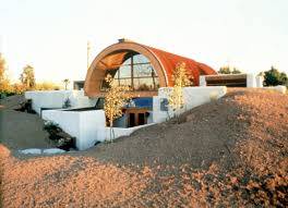 Hoffman house is earth-sheltered for cooling