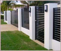 Small Picture Great share Modern Fence Design Ideas Alternative Fences