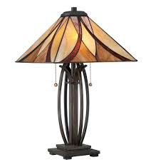 quoizel tf1180tva asheville valiant bronze table lamp