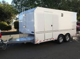 Cabinets For Cargo Trailers Tpd Trailers Custom Enclosed Trailers