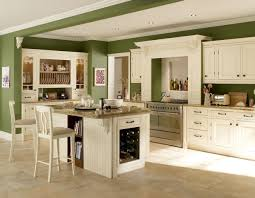 kitchens with white cabinets and green walls. Interesting Cabinets Apple Green Walls White Cabinets And Cream Checkers In Kitchens With White Cabinets And Green Walls R