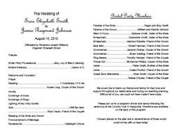 wedding reception program templates free download free printable wedding menu templates