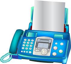 Fax Machine Free Vector In Adobe Illustrator Ai Ai Vector