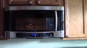 Best Over The Oven Microwaves Samsung Microwave Smh9207st 1100w 20 Cu Ft Over The Range