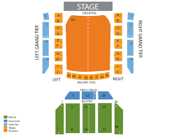 Modell Pac At The Lyric Seating Chart Modell Performing Arts Center At The Lyric Seating Chart And