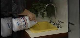 how to unclog a backed up kitchen sink