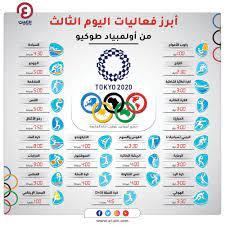 أولمبياد طوكيو 2021.. فعاليات يوم الإثنين 26 يوليو والقنوات الناقلة