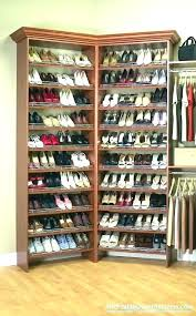 from closetmaid shoe shelf support cluttered to organized a you can closet organizer shelves shoe holder for closet