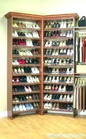 from closetmaid shoe shelf support cluttered to organized a you can closet organizer shelves shoe holder for closet