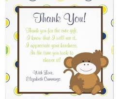 Baby Gift Thank You Note Baby Gift Thank You Card Wording Inspirational Baby Gift Thank You