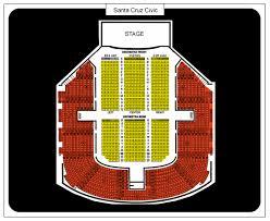 Santa Cruz Civic Auditorium Seating Chart Ticket Solutions