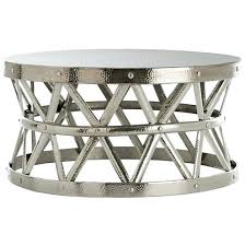silver hammered coffee table coffee table hammered drum cross silver coffee table coffee table silver hammered coffee table