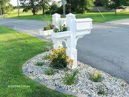 mailbox landscaping with culvert. Beautiful Culvert Mailbox Landscaping With Culvert Landscaping Around A Mailbox Pictures   With Culvert In I