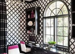 black and white office. Black And White Office Decor Home Design Ideas Pictures