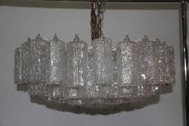 large italian murano art glass chandelier from venini 1960 1