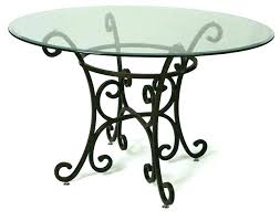 stainless steel dining table glass top glasetal dining table metal top round dining table
