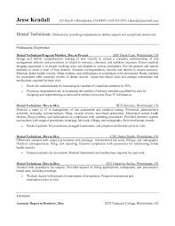 Dentist Resume Sample Pdf