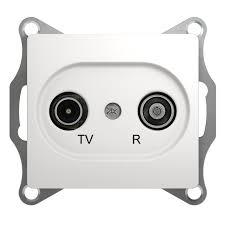 Купить <b>Механизм TV</b>-R оконечной <b>розетки</b> 1dB <b>Schneider</b> Electric ...