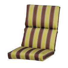 furniture remarkable high back outdoor chair cushions for perfecting the house decordat awesome home interior decoration ideas
