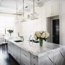 white kitchen dark wood floor. Floor To Ceiling Kitchen Cabinets -Jamie Herzlinger View Full Size. White With Dark Wood K